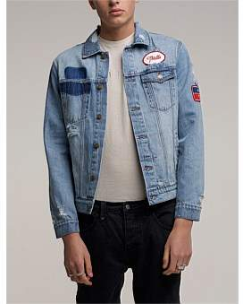 Thrills Southern Destroy Wanderer Denim Jacket