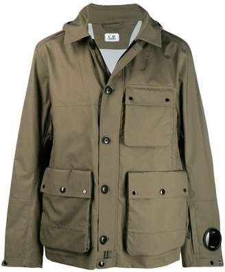 C.P. Company goggle hooded jacket