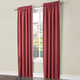 Sun Zero Sun ZeroTM Porter 2-Pack Room-Darkening Rod-Pocket Curtain Panels