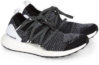 Adidas by Stella McCartney Black Marl Ultra Boost X Trainers $210 thestylecure.com