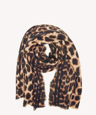 Sole Society Leopard Printed Blanket Scarf