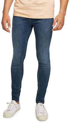 Topman Sandler Spray-On Skinny Jeans