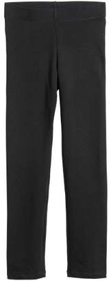H&M Thick Jersey Leggings - Black