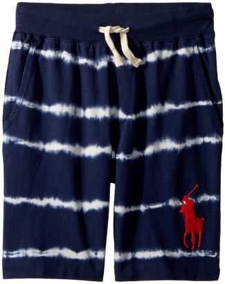 Polo Ralph Lauren Tie-Dye Cotton Jersey Shorts Boy's Shorts
