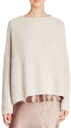 Vince Cashmere-Blend Sweater $445 thestylecure.com