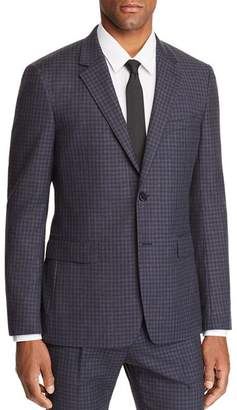Theory Sartorial-Check Slim Fit Wool Suit Jacket