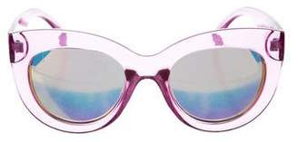 Quay Delilah Cat-Eye Sunglasses