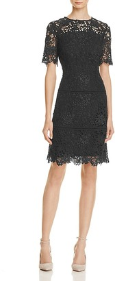 REISS Lina Sequin Lace Dress - 100% Exclusive $495 thestylecure.com
