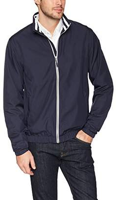 Cutter & Buck Men's Water Resistant Twill Nine Iron Full Zip Lightweight Jacket