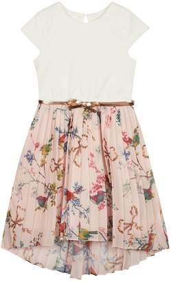 Next Girls baker by Ted Baker Younger Girls Pleated Skirt Dress