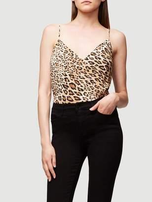 Frame Cheetah Silk Cami
