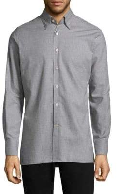Canali Cotton Casual Button-Down Shirt