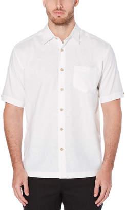 Cubavera Solid Chest Pocket Shirt