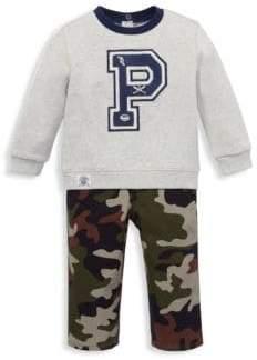 Ralph Lauren Boy's Two-Piece Sweatshirt& Jeans Set