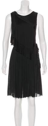 Nina Ricci Sleeveless Knee-Length Dress