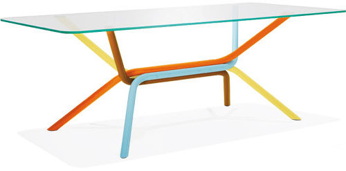 Knoll ross lovegrove rectangular tables