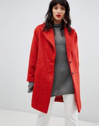 Asos Design DESIGN brushed coat