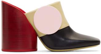 Jacquemus Multicolor Les Mules Boutons Heels