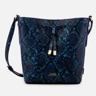 Lauren Ralph Lauren Women's Dryden Debby Mini Drawstring Bag - Cosmic Blue