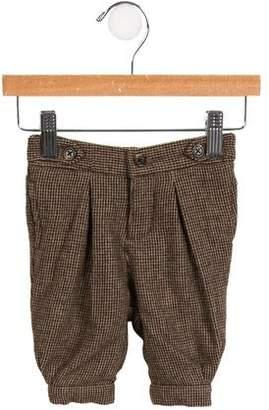 Ralph Lauren Boys' Wool-Blend Houndstooth Pants