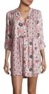 Josie Floral-Printed Sleepshirt