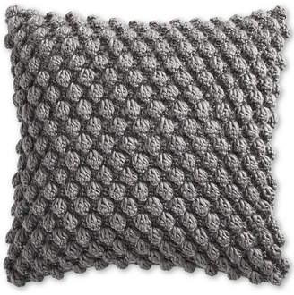 """Charter Club Bobble Knit 18"""" Decorative Pillow, Created for Macy's"""