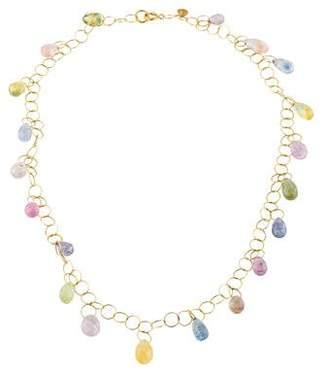 Mallary Marks 18K Sapphire Spun Collar Necklace