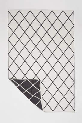 H&M Large Jacquard-weave Rug - White