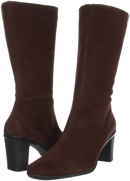 La Canadienne Donata (Brown Suede) - Footwear