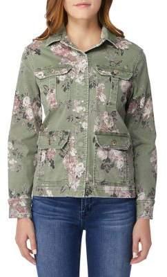 Kensie jeans Floral Denim Jacket
