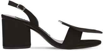 Jacquemus 65mm Les Rond Carré Suede Sandals