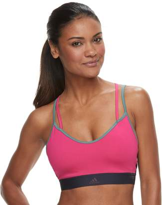 adidas All Me Strappy Low-Impact Sports Bra DH3641