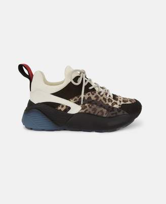 Stella McCartney eclypse leopard sneakers