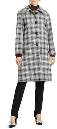 Burberry Walkden Plaid Coat