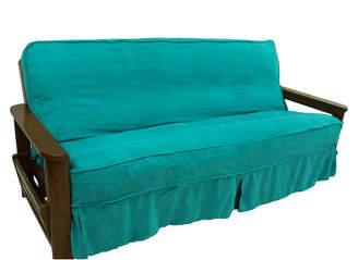Blazing Needles Box Cushion Futon Slipcover