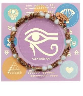 Alex and Ani Ruler Wrap Robin Bracelet