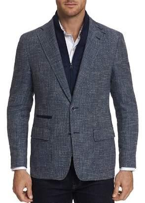 Robert Graham Downhill Layered-Look Tweed Jacket