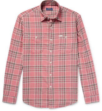 Polo Ralph Lauren Checked Cotton-Flannel Shirt