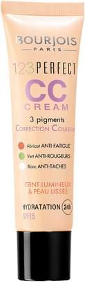 Bourjois 123 Perfect Cc Eye Cream Spy 15 # 32 Beige Clair for Women, 1-Ounce