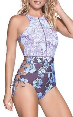 Maaji Santa Catalina Reversible One-Piece Swimsuit