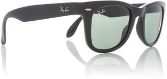 Black RB4105 Folding Wayfarer sunglasses