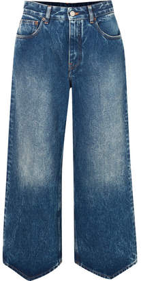 MM6 MAISON MARGIELA Cropped Jeans - Mid denim