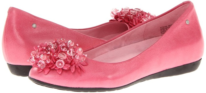 Rockport Faye Petals Ballet (Bubblegum) - Footwear