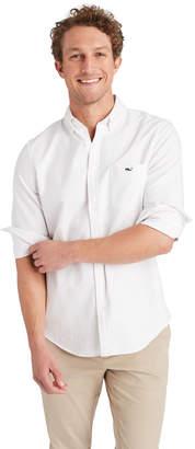 Vineyard Vines Slim Solid Oxford Tucker Shirt