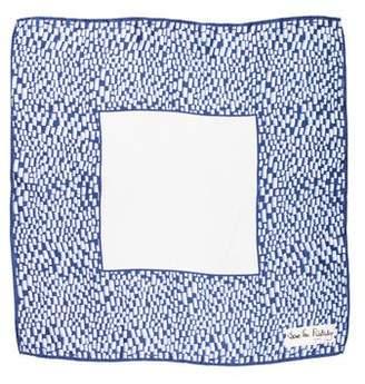 Diane von Furstenberg Printed Square Rolled-Edge Scarf