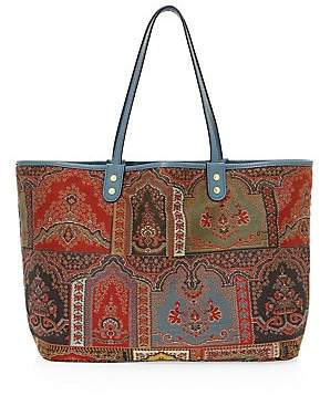 Etro Women's Reversible Neo-Nomad Tapestry Embroidered Tote