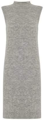 Mint Velvet Grey Marl Longline Side Split Knit Tunic