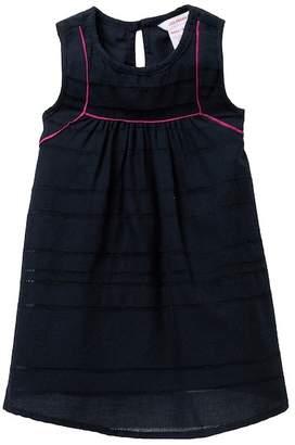 Joe Fresh Piped Dress (Baby Girls)