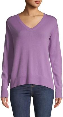 Vince V-Neck Wool & Cashmere Blend Sweater