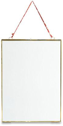 Nkuku Kiko Antique Brass Portrait Frame